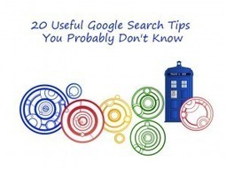 20 Useful Google Search Tips You Probably Don't Know - | Social Media Research, Research Social Media | Scoop.it