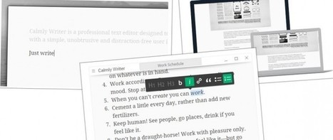 calmlywriter, un editor de texto limpio e integrado con Google Drive | Educación con tecnología | Scoop.it