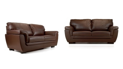 Quality Brown Leather Sofas In Supreme Furniture Uk Scoop It