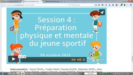 Parcours d'Excellence chez le jeune sportif >> Vidéo Campus > Les podcasts de l'Université Blaise Pascal | Préparation Mentale et Sports | Scoop.it
