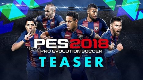 download pes 2018 for pc free