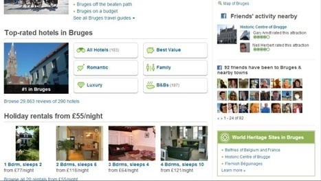 TripAdvisor basks in social graph integration with Facebook, eye-watering numbers revealed   Destination marketing and social media   Scoop.it