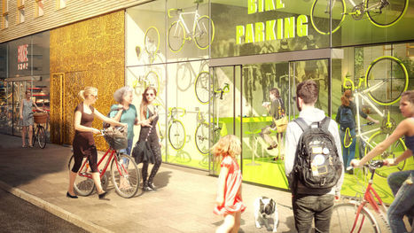 Stockholm's Newest Parking Garage Is Only For Bikes   Social Environments   Scoop.it