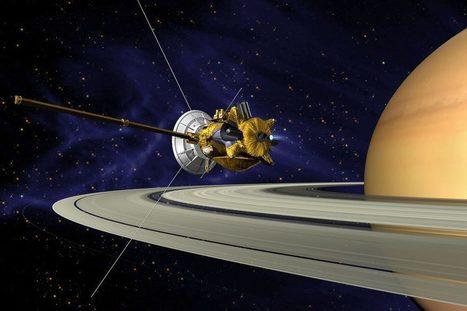 Dernières valses autour de Saturne pour la sonde Cassini | C@fé des Sciences | Scoop.it