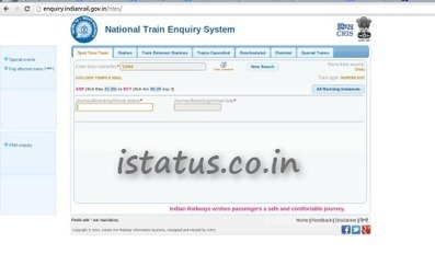 Train running status live' in Technology   Scoop it