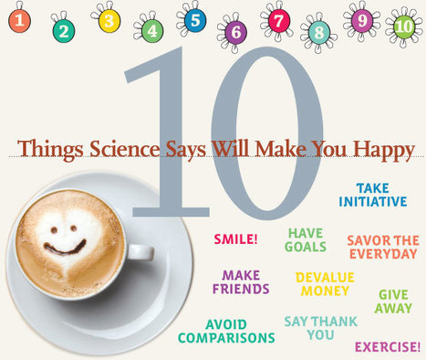 10 Things Science Says Will Make You Happy | Happiness is THE Journey - Le bonheur, c'est LE voyage | Scoop.it