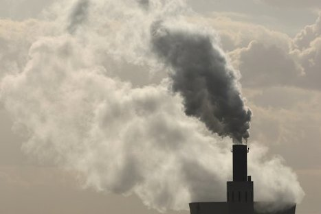 "Carbon Dioxide Emissions Close to Flat for Third Straight Year, Report Says (""mitigation succeeding?"") 