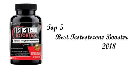 best testosterone booster 2018
