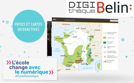 Ouverture des banques de ressources numériques pour les cycles 3 et 4 - Education.gouv | Usages numériques et Histoire Géographie | Scoop.it