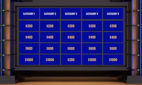 Jeopardy Prezi Template
