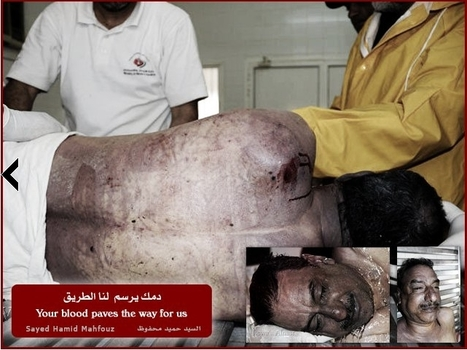 Sayed Hameed Ebrahim Mahfoodh Alsari - Martyr of Bahrain | Human Rights and the Will to be free | Scoop.it