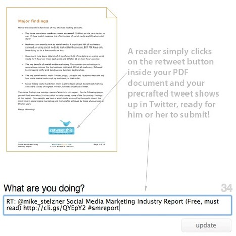 How To Make It Easy for Others To Retweet Your Quality PDF or eBook | seo content marketing etc | Scoop.it