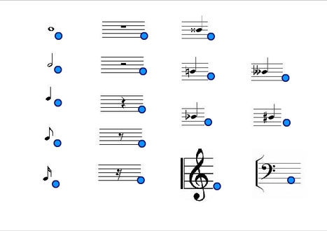 Musical Notes And Symbols Online Music Games