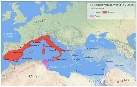 Historical Atlas of the Mediterranean | Recursos Educativos para ESO, Geografía e Historia | Scoop.it