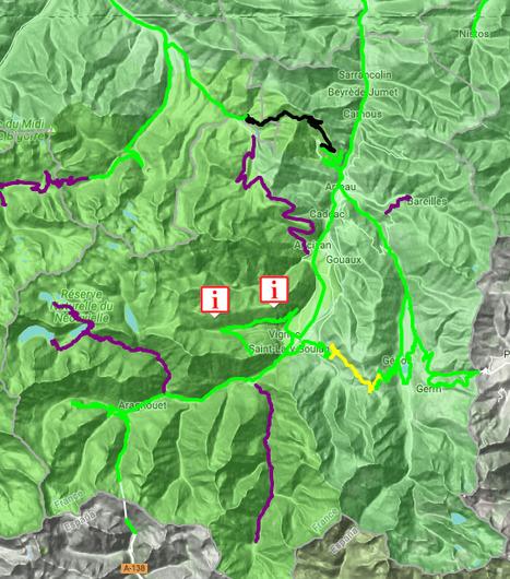Conditions de circulation routière en Aure & Louron le 23 janvier (07:30) - InfoRoute65 | Vallée d'Aure - Pyrénées | Scoop.it