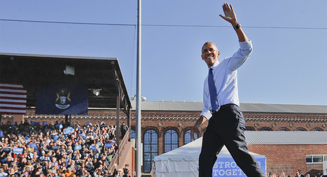 Poll: Obama's approval rating highest in seven years | Anything Mobile | Scoop.it