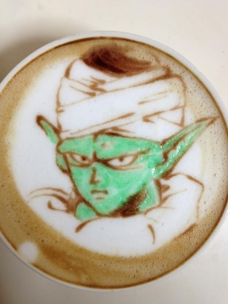 The Drinkable Masterpieces of a Japanese Anime Latte Artist   Strange days indeed...   Scoop.it