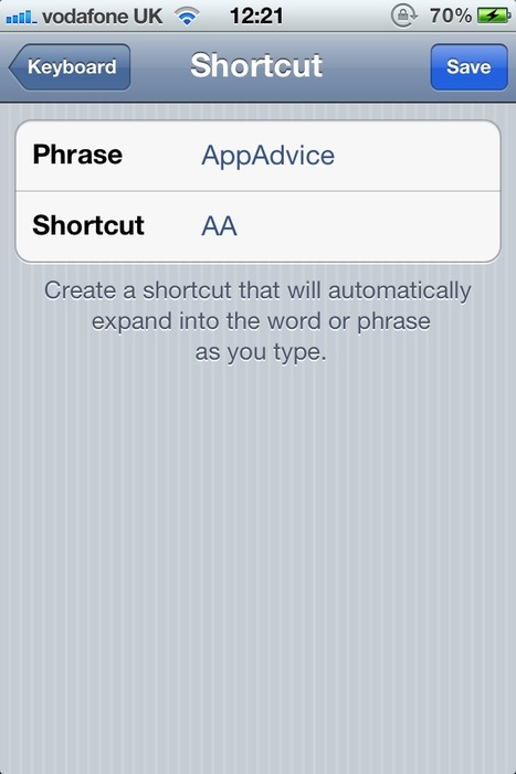 Learn How To Create Shortcuts On Your iOS 5 Device -- AppAdvice | iOS Stuff | Scoop.it