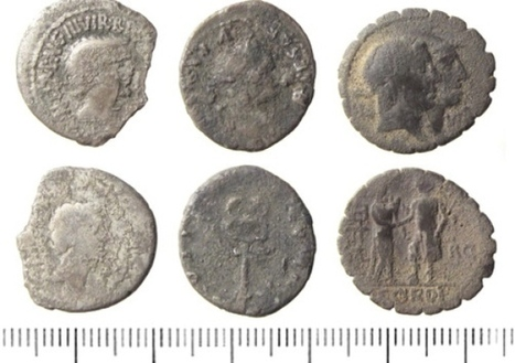 Roman coins are found in city field - Local - Sheffield Telegraph | Archaeology News | Scoop.it