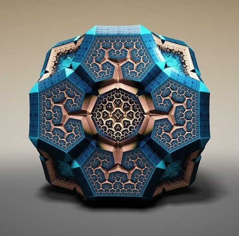 Spectacular Fabergé Fractals by Tom Beddard | Live mathematics! | Scoop.it