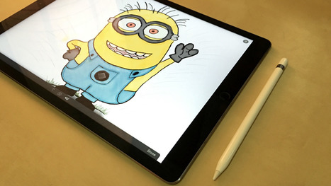 Review: Apple Pencil is the best iPad writing tool yet … if you can handle the Pro's size   Macwidgets..some mac news clips   Scoop.it