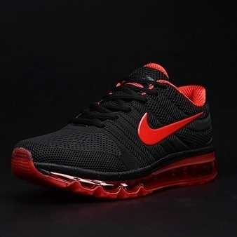 promo code 199df 7e8c4 Nike Air Max 2017 Black Red Tick Women Men Latest Shoes  airmax2017-018  -  £58.00   Luxury Hot Bags Hut - Original Purses Factory Outlet Collection