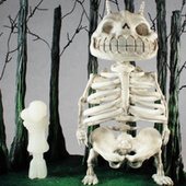 Skeleton Totoro Is Not Cuddly Cute. At All. | Anime News | Scoop.it