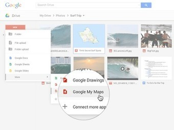 My Maps - Create and Edit Maps in Google Drive | 21st Century Concepts-Technology in the Classroom | Scoop.it