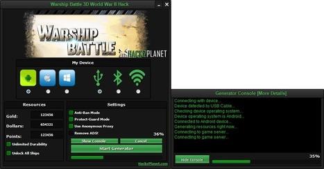 Warship Battle 3D World War II Hack iOS Android