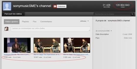 YouTube sanctionne durement Universal Music et Sony Music | Divers 2.0. | Scoop.it