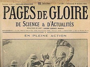 Pages de gloire - 5 années disponibles - Gallica | Nos Racines | Scoop.it