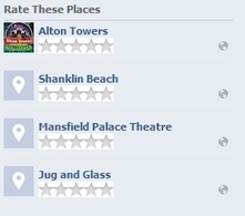 Facebook Testing Five-Star Ratings For Places | The Perfect Storm Team | Scoop.it