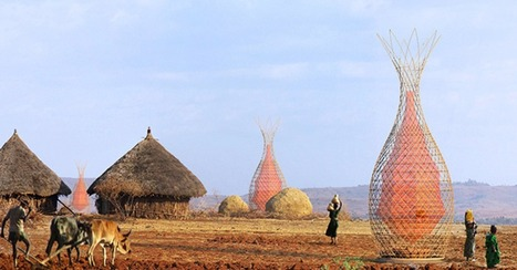Check Out These Amazing Towers In Ethiopia That Harvest Clean Water From Thin Air | Interesting thoughts | Scoop.it