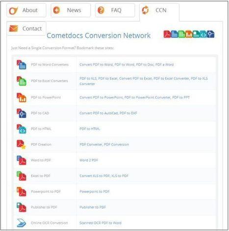Cometdocs: gratis je documenten online converteren, opslaan en delen | lifehacking | Scoop.it