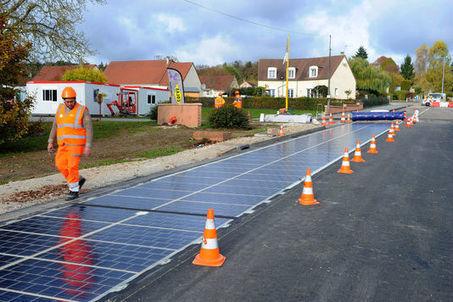 En Normandie, une route solaire au banc d'essai   Marketing Innovation & Territoires   Scoop.it