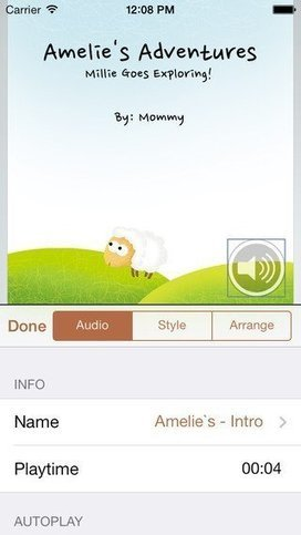 Book Writer: App Allows Students to Create Their Own eBooks | TICE & FLE | Scoop.it