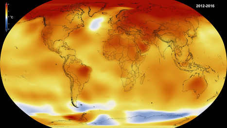 NASA, NOAA Data Show 2016 Warmest Year on Record Globally | Education for Sustainable Development | Scoop.it