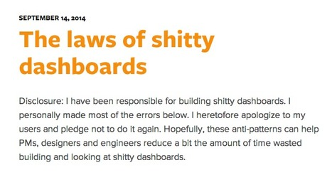 The laws of shitty dashboards • Attack with Numbers | Web UX Links | Scoop.it