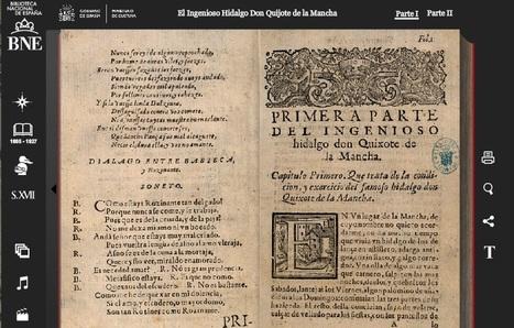 Quijote Interactivo - Biblioteca Nacional de España | NTICs en Educación | Scoop.it