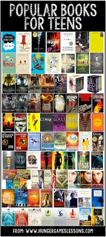 Popular Books for Teens | ELA in the Modern Era | Scoop.it