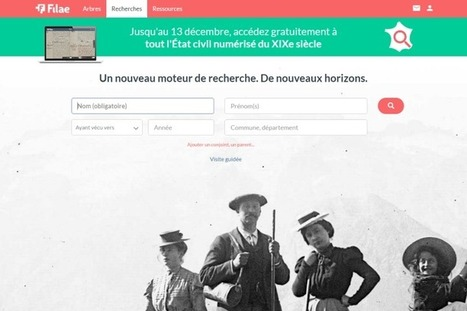genealogie.com devient filae.com avec l'indexation de l'état civil du XIXè siècle — genBècle | Ma Bretagne | Scoop.it