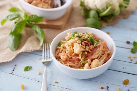 Sicilian Cauliflower Linguine - Plant-Based Vegan Recipe | Vegan Food | Scoop.it