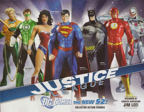 DC Direct Unveils Full 'Justice League' Action Figure Lineup and Release Dates | Comic Books | Scoop.it