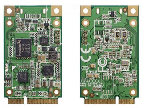 $70 UP AI Core mini PCIe Card Features Intel Mo