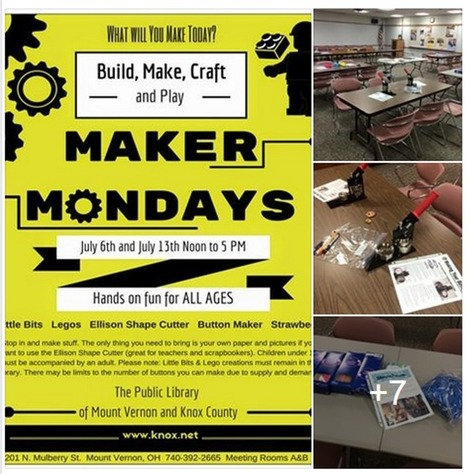 What I Learned from the Cincinnati MakerSpace, part 2: Maker Mondays — @TLT16 Teen Librarian Toolbox | Education | Scoop.it