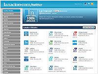Le Journal argentin La Nacion organise ses flux twitter   Webjournalisme   Scoop.it