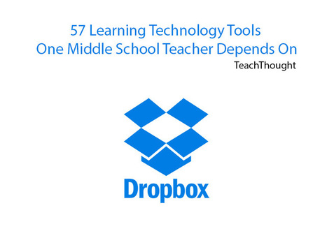 57 Learning Technology Tools One Middle School Teacher Depends On - TeachThought | Web Tools in Education | Scoop.it