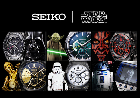 It's Star Wars Time... For Real. SEIKO Launches Six Official Star Wars Wristwatches. | All Geeks | Scoop.it