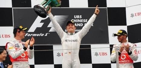Rosberg conquista primeira vitória da carreira e Senna chega em 7º na China   esportes   Scoop.it