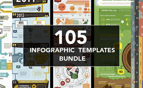 Mega bundle of 105 incredible infographic templates for 93% OFF • Inspired Magazine | SPIP - cms, javascripts et copyleft | Scoop.it